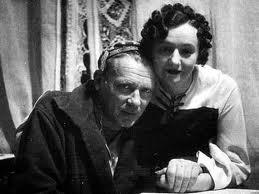 Михаил Афанасьевич Булгаков со своей третьей женой, Еленой Сергеевной Шиловской
