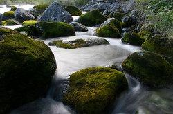 Горная река Кюель-Сиен